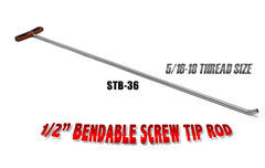 Bendable Screw Tip Rod 36""
