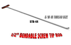Bendable Screw Tip Rod 44""