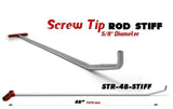 "Screw Tip Rod 48"" STIFF"