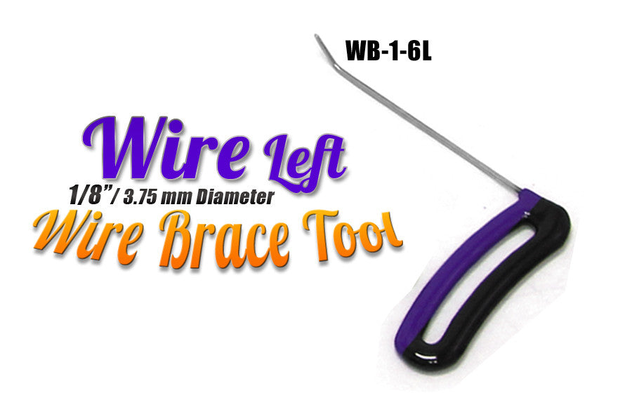 "DISCONTINUED!!! GET IT WHILE YOU CAN!!! Brace Wire Tool 1/8"" x 6"" LEFT"