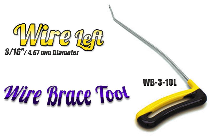 "DISCONTINUED!!! GET IT WHILE YOU CAN!!! Brace Wire Tool 3/16"" x 10"" Left"