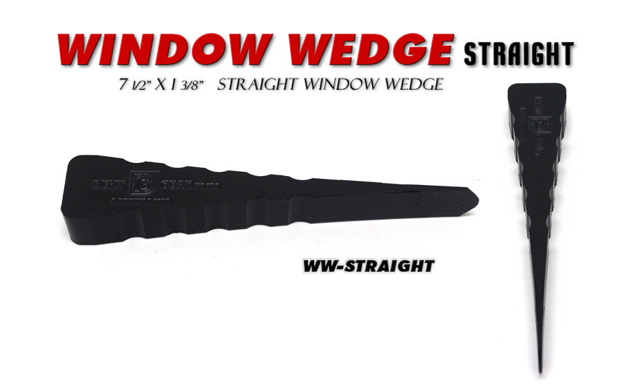DISCONTINUED!!! GET IT WHILE YOU CAN!!  Window Wedge Straight
