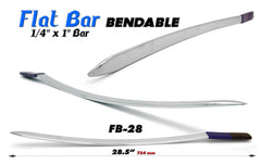 "FB-28 28"" Bendable Flat Bar"