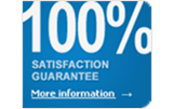 100% Satifaction Guarantee