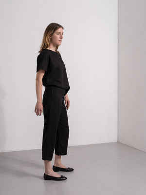 ESTHER LYOCELL PANT BLACK