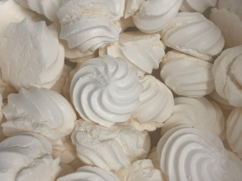 Meringues natures (par 11 pc, +-50gr)