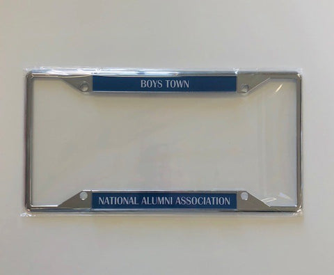 Boys Town Alumni Association License Plate Holder