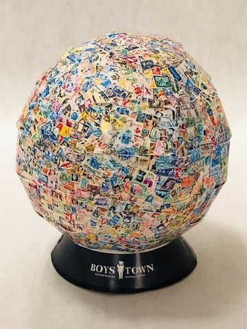 World's Largest Ball of Stamps Puzzle