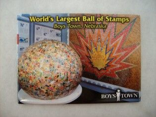 World's Largest Ball of Stamps Magnet