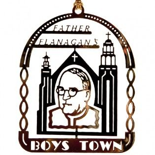 Brass Father Flanagan Ornament