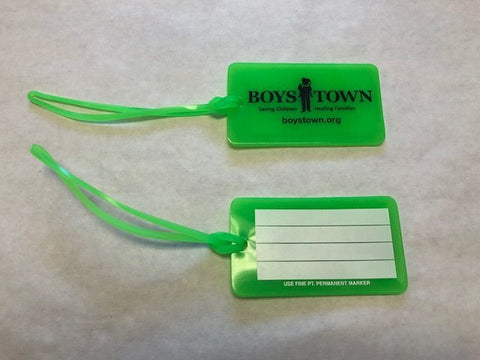 Boys Town Luggage Tag