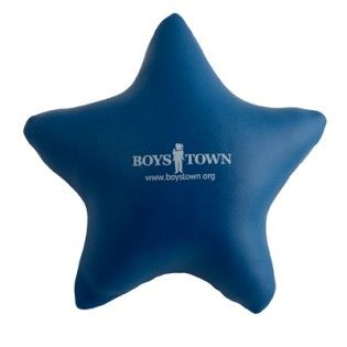 Logo'd Blue Stress Star