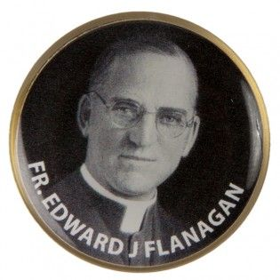 Father Flanagan Tac Pin