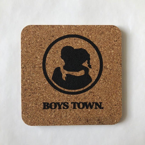 Boys Town Cork Coaster