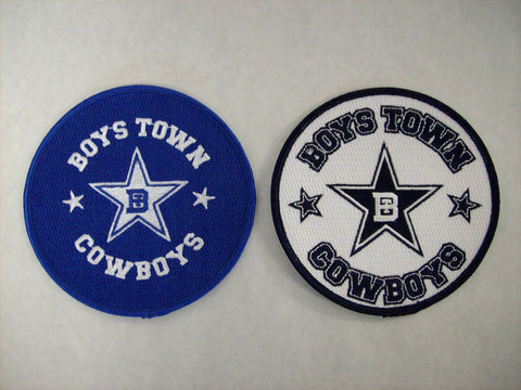 Boys Town Cowboys Circular Patch