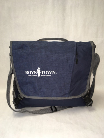 Boys Town Laptop Messenger Bag