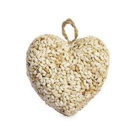 Heart-Shaped Birdseed Ornament