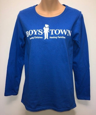 Boys Town Ladies Long Sleeved T-shirt