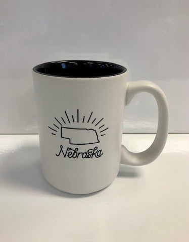 Nebraska Happiness Mug