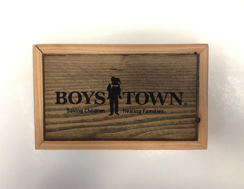 Rustic Comforts Boys Town Sign - Small