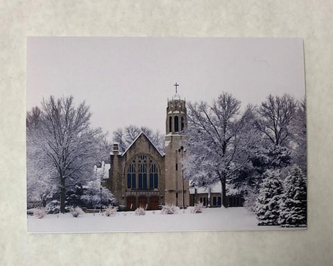 Christmas Card - Dowd Chapel Winter Scene
