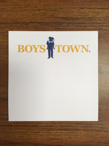 Boys Town Sticky Notes