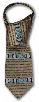 Gold Book of Kells Silk Tie