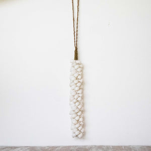 Suspension Coquillages Blancs