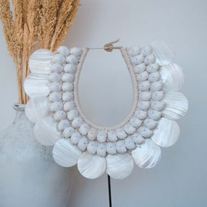 Collier Coquillages Nacrés Koin Kupang