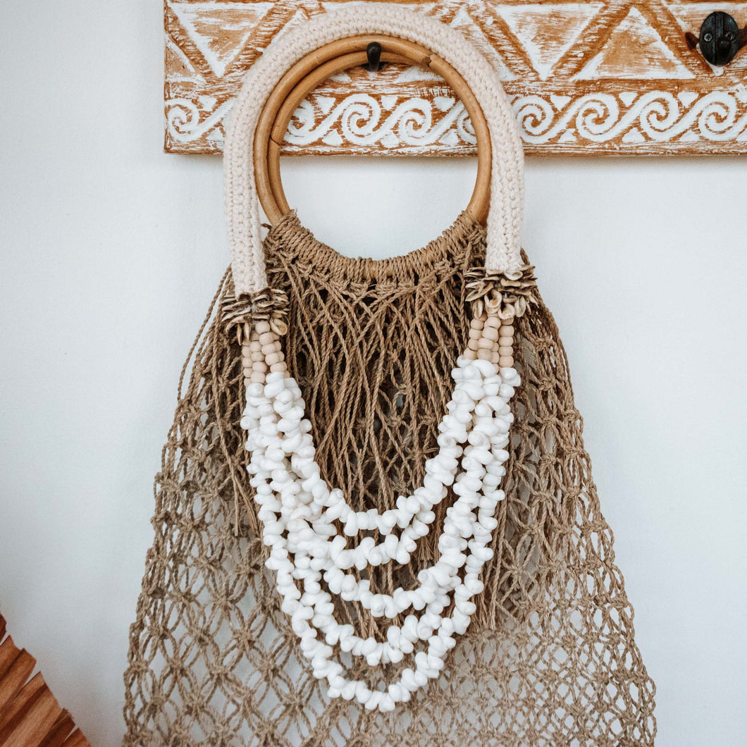 Collier Coquillages Blans