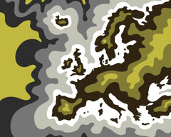 Europe Yellow Grey