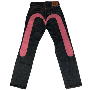 Evisu Jeans Hand-painted Vintage Denim