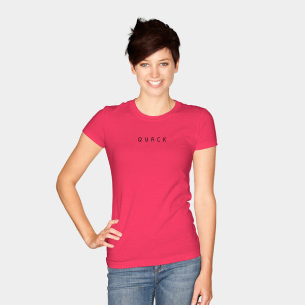 QUACK (Women's Junior Perfect Tee)