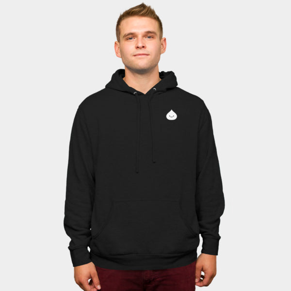 Male Momo Smiling (Unisex Pullover Hoodie)