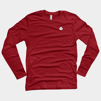 Male Momo Smiling (Men's Long Sleeve Tee)