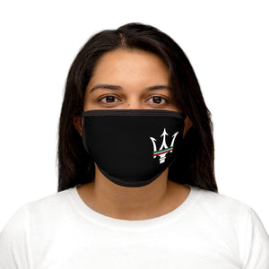 Maserati Large Italian Trident Mixed-Fabric Face Mask