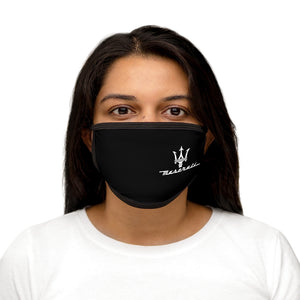 Maserati Trident Signature Mixed-Fabric Face Mask