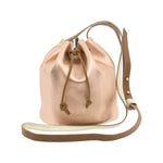 """Noe"" Mini Leather Bucket Bag"