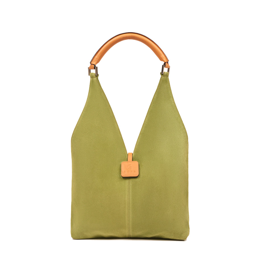 """Charlotte"" Suede Shoulder Bag"