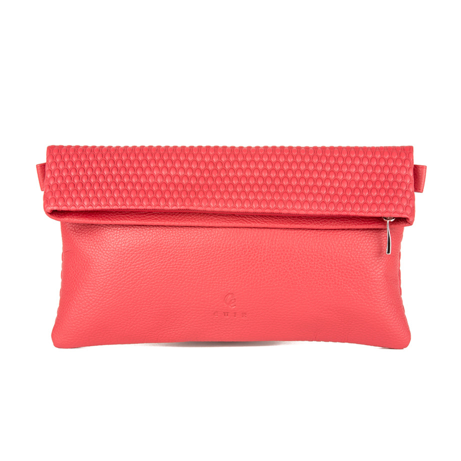 Leather Bubble Pochette