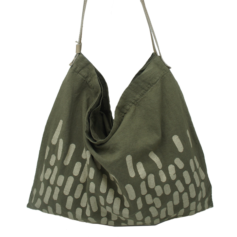 Reversible Printed Linen Bag