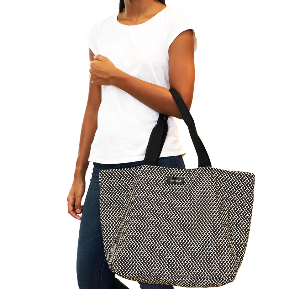 Large Printed Shopper