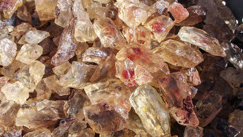 Oregon Sunstone Crystals - Photo by Duncan Pay