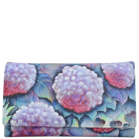Anuschka Checkbook Clutch Wallet Style 1042 - Rock Your World