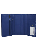 Anuschka Three Fold Wallet with RFID Protection Style 1150