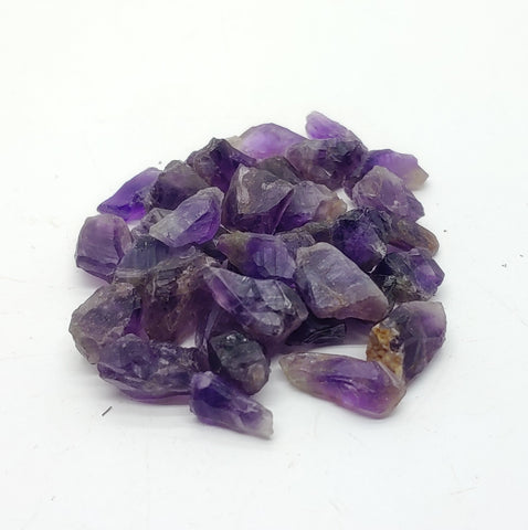 Tiny Natural Amethyst Quartz Raw Crystal