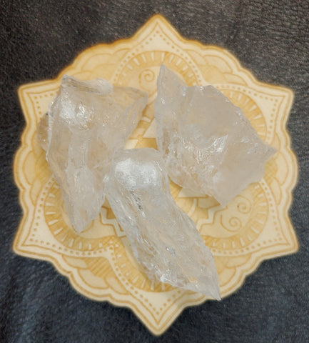 Raw Quartz Rough Rock Crystal Stone