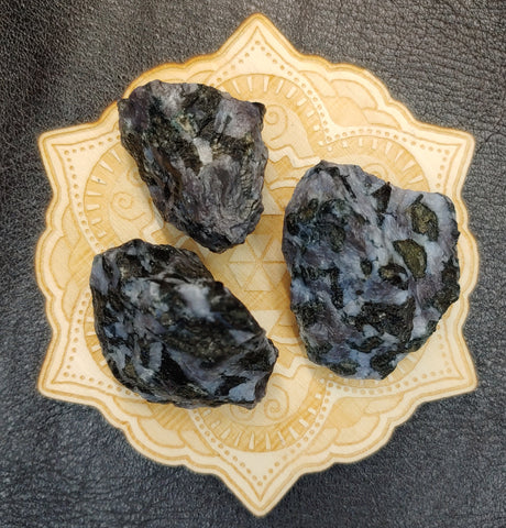 Mystic Merlinite Indigo Gabbro Crystal