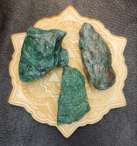 Raw Fuchsite Mica Crystal