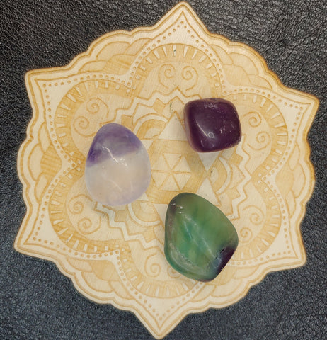 Fluorite Tumbled Polished Stone